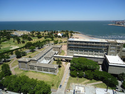La ciudad de Montevideo. Uruguay