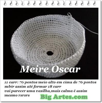 BIG artes - Blog: PAP Galinha em Crochê Feita com Alínea Seda São ...