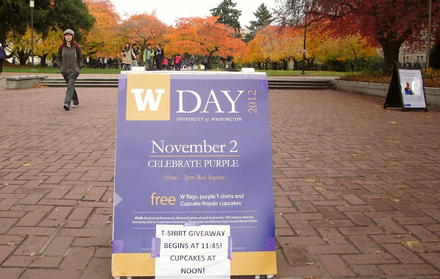 W Day on campus