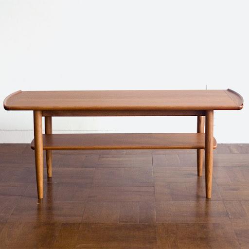 プールアニックオリジナルNorth(ノース)コーヒーテーブル:正面