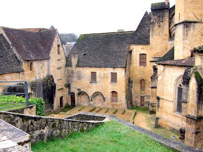 Cathedral Yard in Sarlat, France