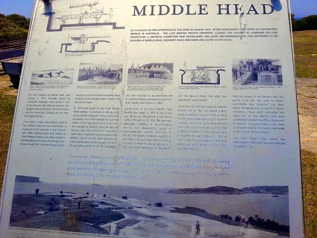 C19th Fortifications on Middle Head - Sydney Harbour Walk