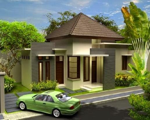 Contoh Model Rumah Gallery Taman Minimalis