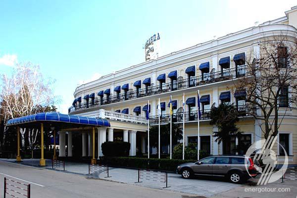 Отель Гостиница Бартон Парк Barton Park Алушта
