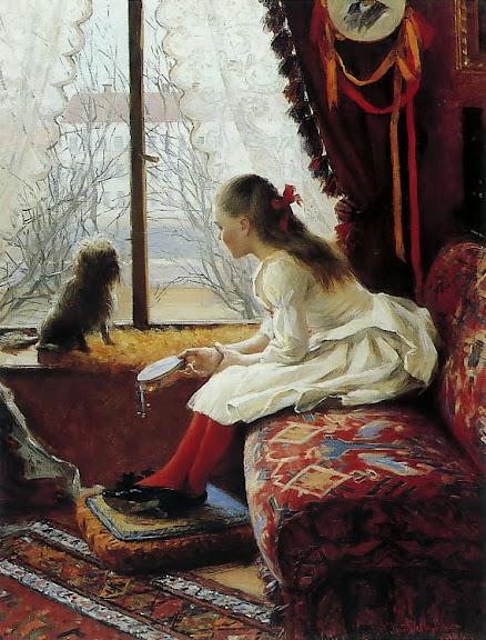 Elin Danielson-Gambogi - Portrait Of Walborg Jakobsson
