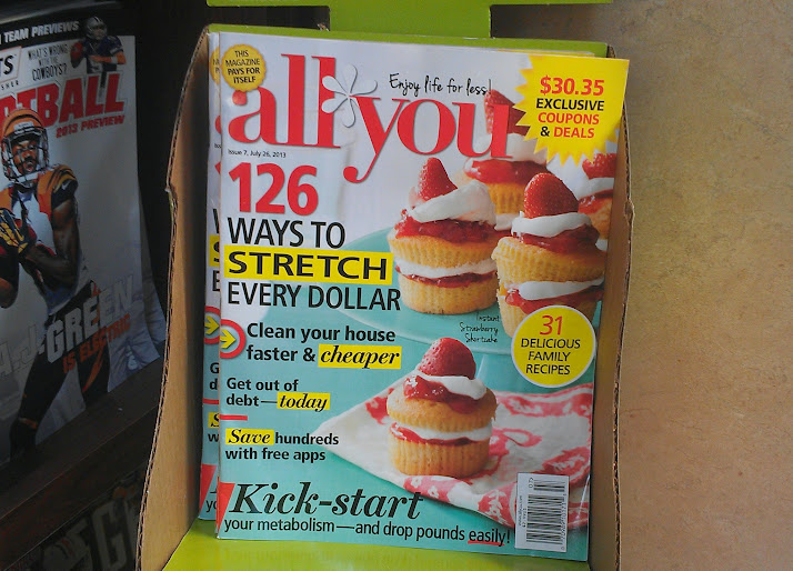 All You Magazine Now at Kroger #LifeForLess