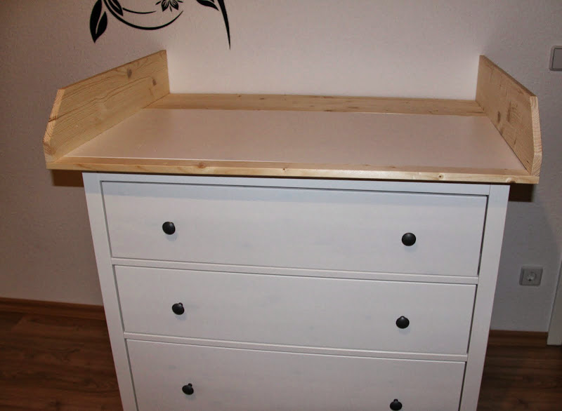 Kinderzimmer Einrichtung Ikea ~   Wickeltischauf satz IKEA Hemnes Kommode Wickelkommode NEU 15cm hoch