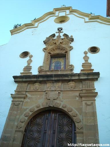 iglesia de Nuestra Señora de los Remedios, en Estepona (Málaga)
