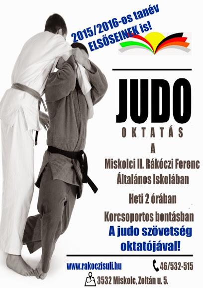 Judo oktatás a Rákócziban!
