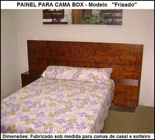 painel para cama box