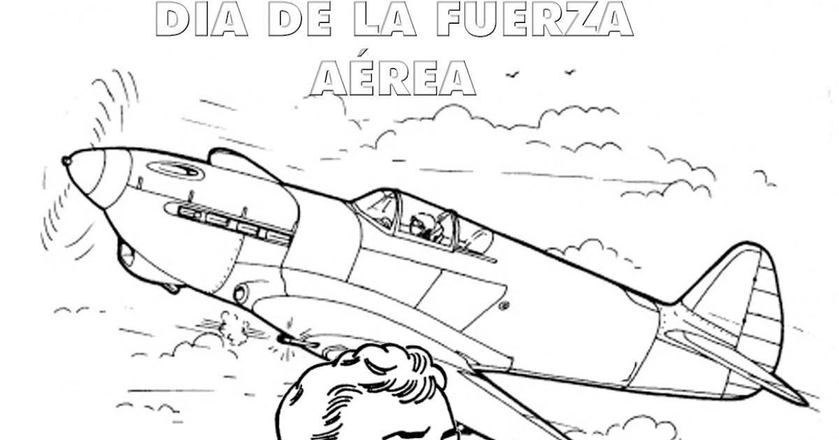 Fantástico Fuerza Aérea Para Colorear Motivo - Dibujos Para Colorear ...