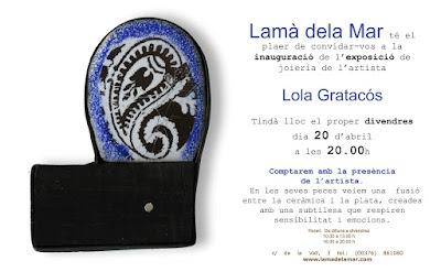 EXPO 'Lola Gratós' - Lamà de la Mar, Andorra - 20 avril 2012 dans Espagne (ES) Expo%2BLola%2Binvitaci%25C3%25B3..