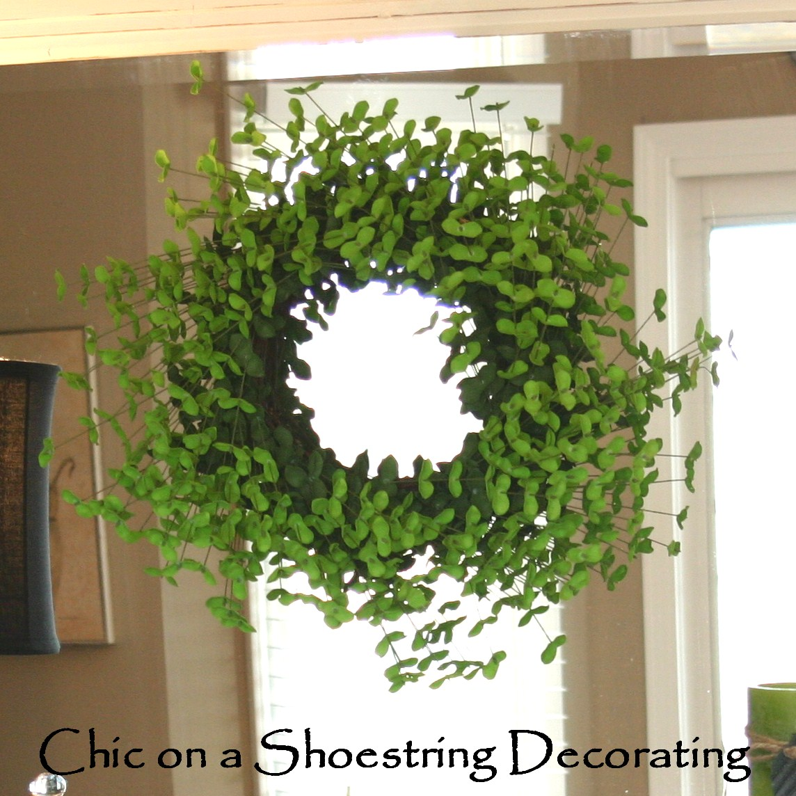 Chic on a shoestring decorating st patrick 39 s day decor for St patricks day home decorations