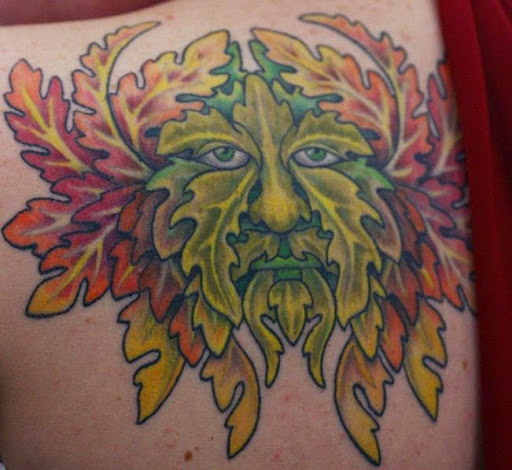 Green Man Tattoos