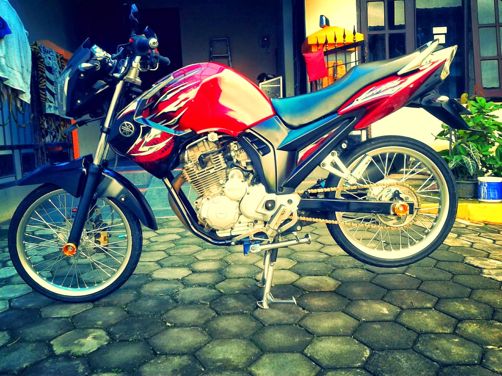 Scorpio Z Modifikasi Simple