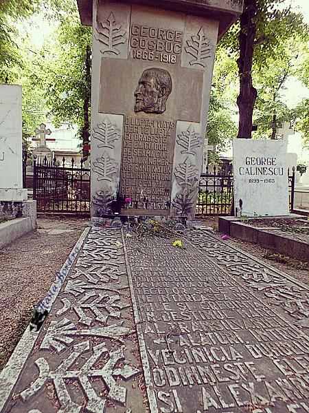 mormant george cosbus cimitir bellu