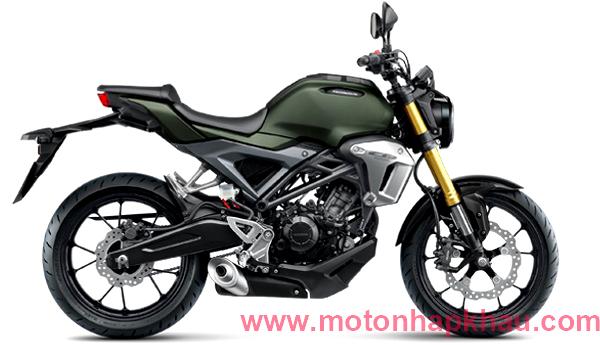 Honda CB150R Scrambler Cafe Xanh Quân Đội