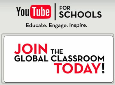 Educación Online y Estudiar en Internet con YouTube Schools