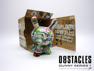 [O8STACLES] Custom Toy Series by Ryan the Wheelbarrow