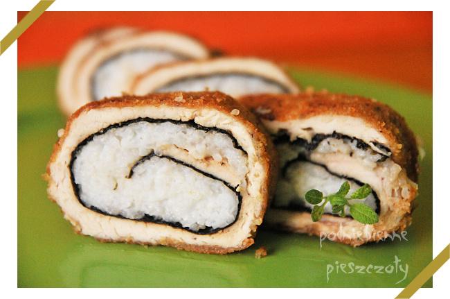 Pierś z kurczaka a'la sushi!