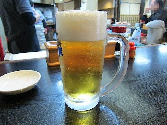 生ビールジョッキ
