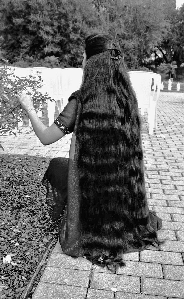 Longhairgirls Very Long Hair Indian Women-5819