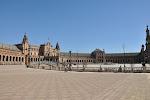 Séville: plaza de Espana