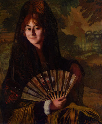 Ignacio Zuloaga - Woman with Fan