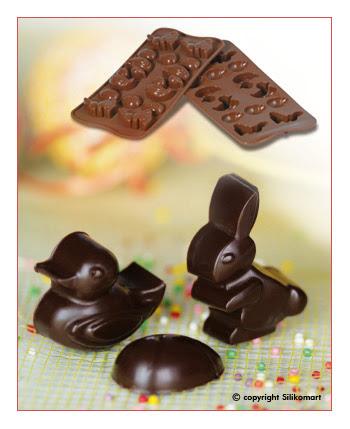Cetakan Coklat Hewan Kelinci Paskah SCG05-Easter