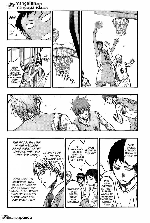 Kuroko no Basket Manga Chapter 209 - Image 12