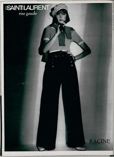 Saint Laurent, Rive Gauche colección 1974