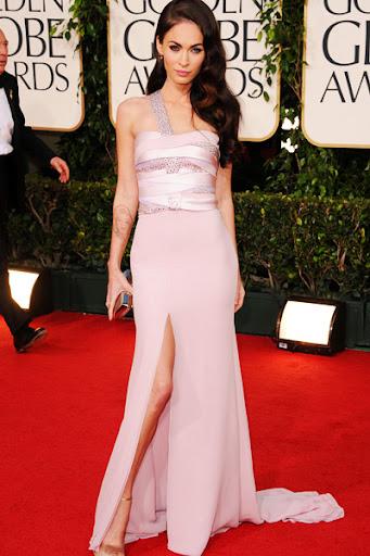 Megan Fox Celebrity Red Carpet Dress