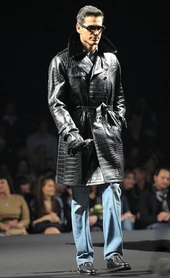 Stefano Ricci paltas kailio apykakle