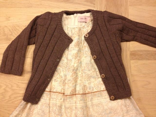 noanoa-noanoaminiature-mønstret-kjole