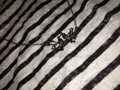 Ebay Vintage Bird Necklace