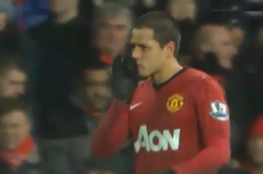 Hernandez, Manchester United - Newcastle
