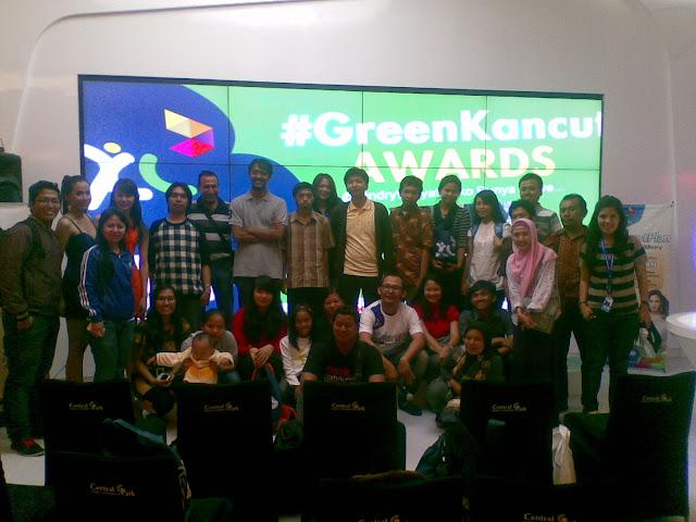 Usai Acara Foto Bareng di #GreenKancutAwards