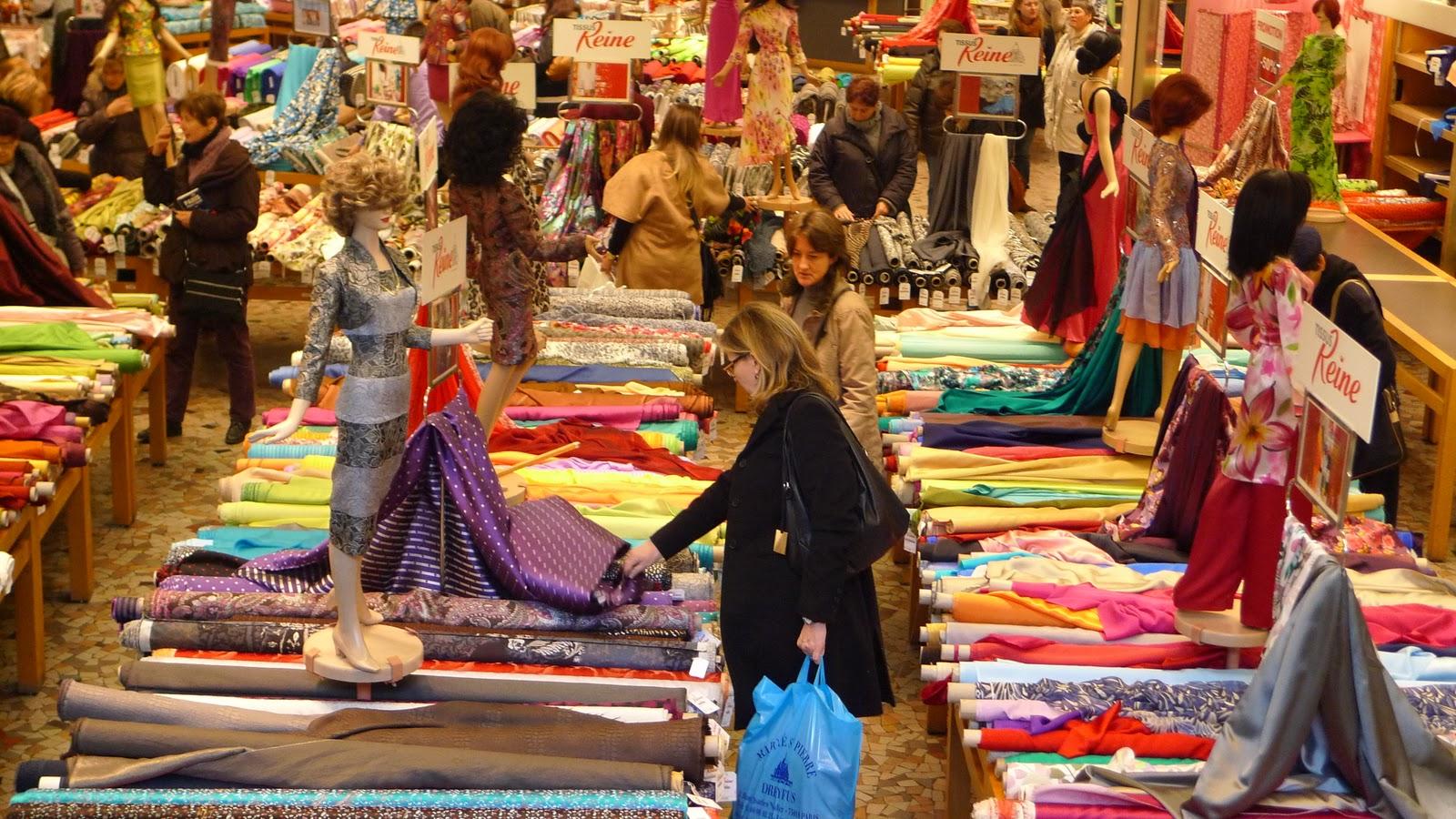 Ms Ellaneous Around Paris Wholesale Fabric District