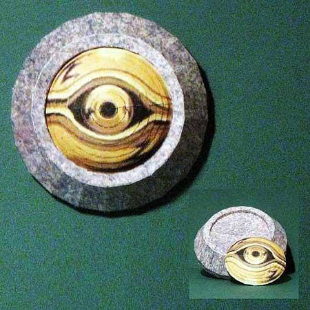 YuGiOh Millennium Eye Papercraft