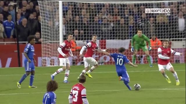 Mata, Arsenal - Chelsea