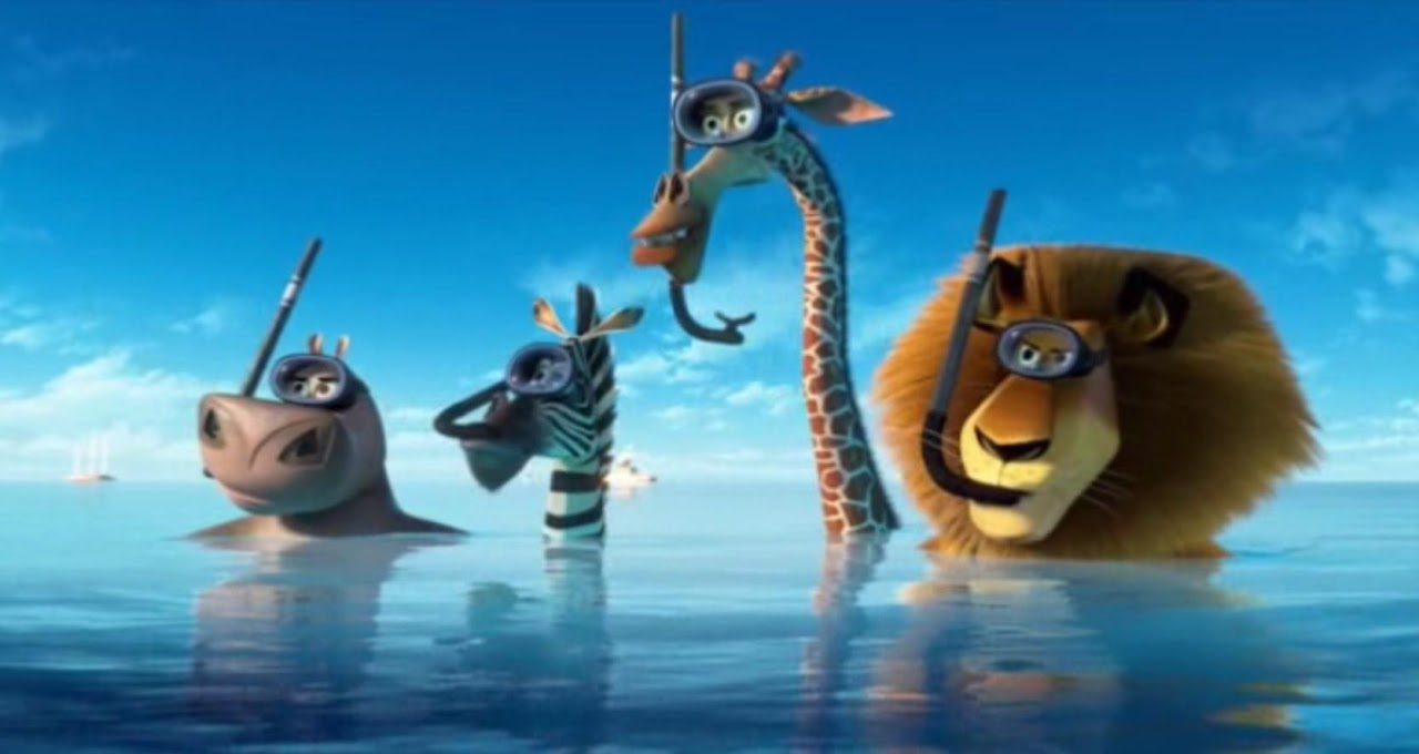 How to Draw Melman of Madagascar 3 Movie ? Drawing &- Illustration ...
