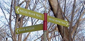 Neuse River Greenway Sign