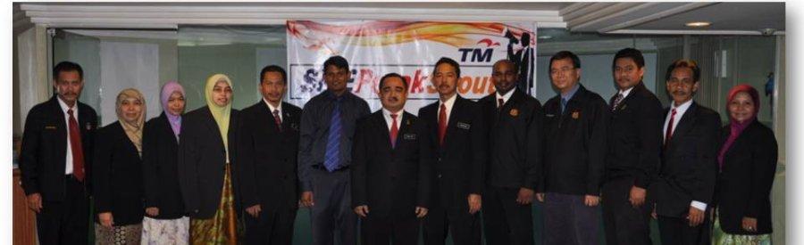 Pembentangan Projek Inovasi Bagi Anugerah Inovasi ICT 2011 di Telekom Malaysia