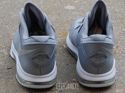 lebron 8 v2 hornets. nike air max lebron 8 v2 low metallic silver white 6 04 Nike LeBron 8 V2