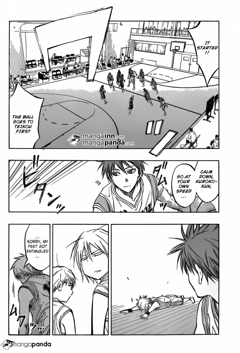 Kuroko no Basket Manga Chapter 208 - Image 08