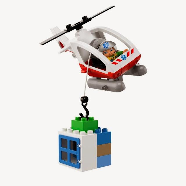 Đồ chơi xếp hình Lego 5794 Emergency