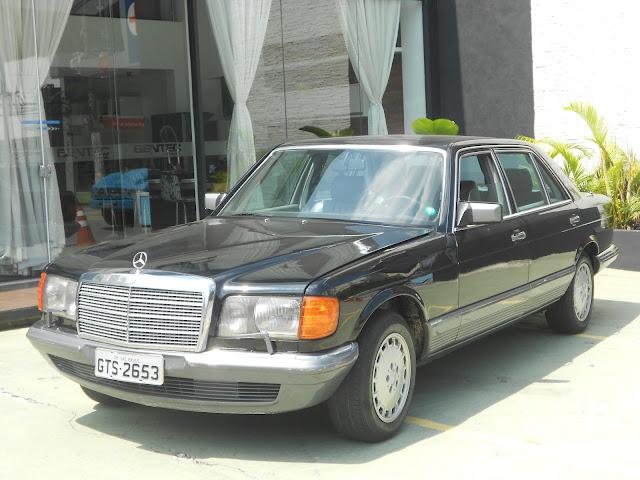 Vendo W126 500SEL- ano - 84 : R$ 30 mil - Troco por MB menor DSCN0072