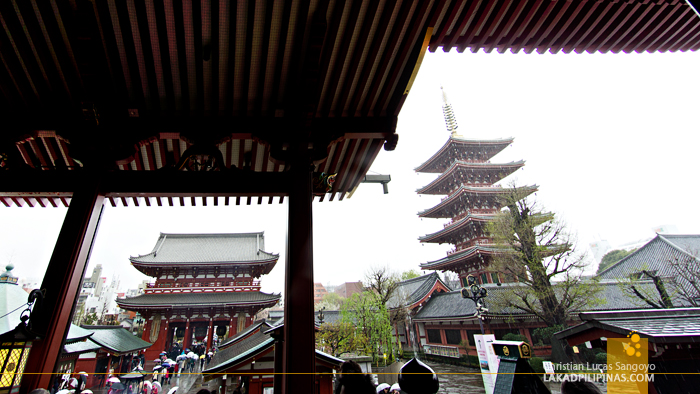 At Asakusa's Sensoji Temple
