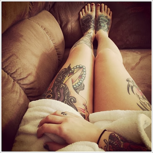 tattoos on thigh