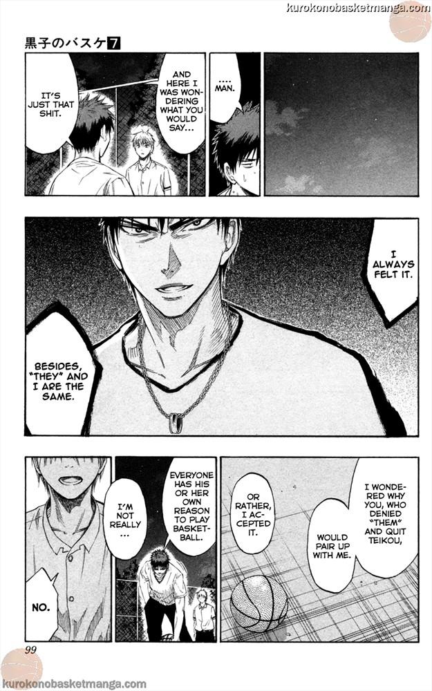 Kuroko no Basket Manga Chapter 57 - Image 11